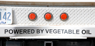 Powered by vegetable oil